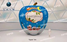 Christmas apple / inflatable apple