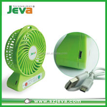 Electric Mini Portable PC USB & Battery Operated Rechargeable Mini Fan for Outdoor Activities