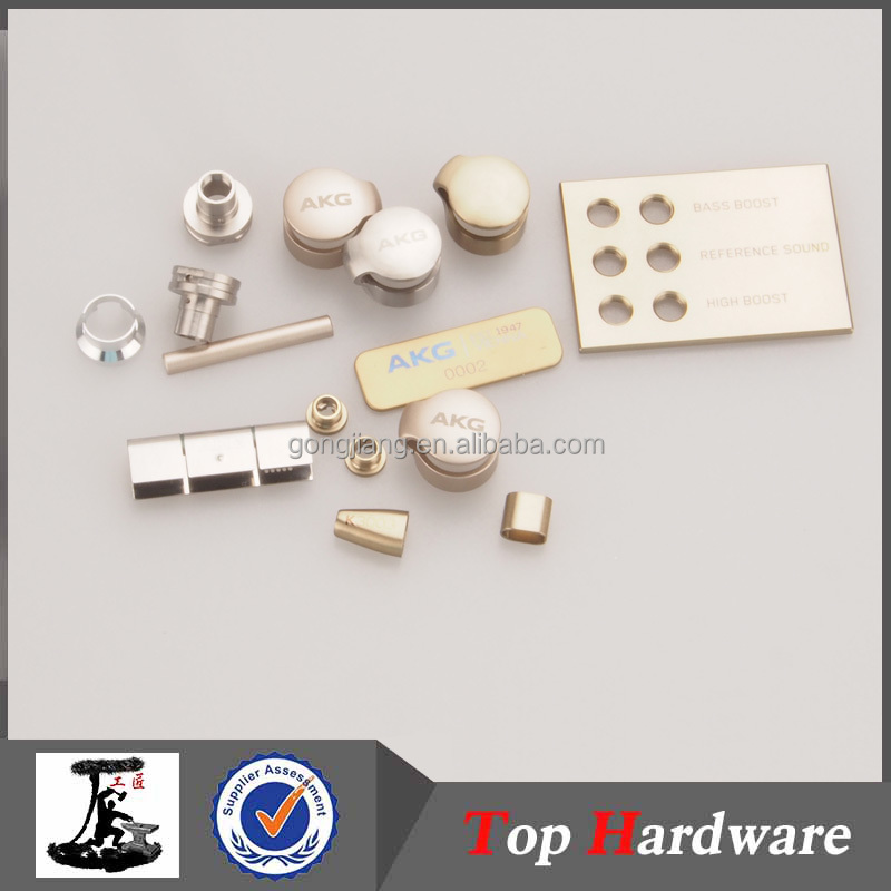 Custom Aluminum CNC milled part stainless steel set screw electronics component
