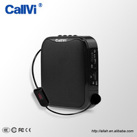 Callvi Hot Professional Tour Guide Teachers PA System Digital Waistband MP3 FM USB Microphone Wireless Speaker Amplifier
