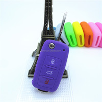 Alibaba Recommend Quality Guaranteed Silicone Car Key Case for Volks Wagen