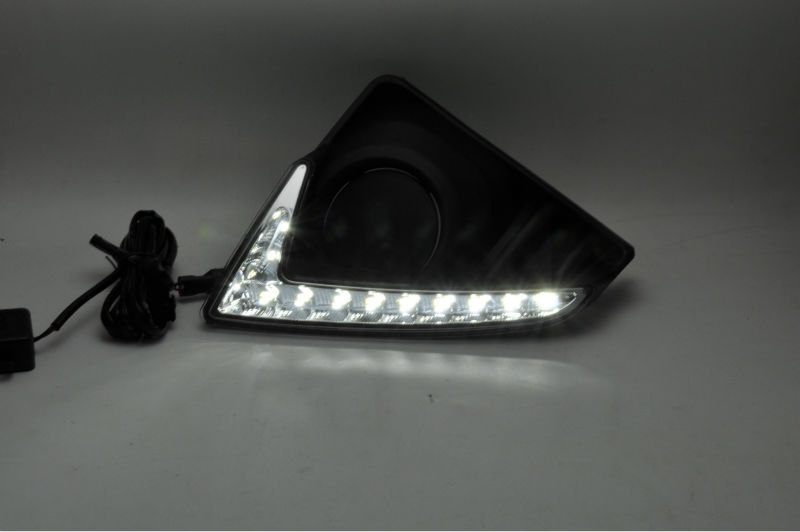 2014 New arrival led drl auto accessories for Toyota Yaris L