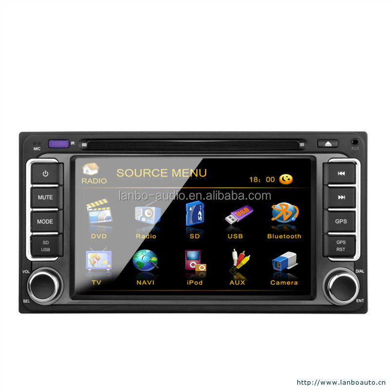 Toyota venza car navigation system with subwoofer output