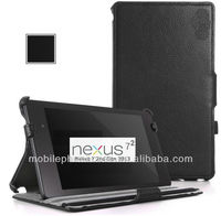 Hand Strap Back Cover Case for Google Nexus 7 - 2nd Generation 2013 Tablet