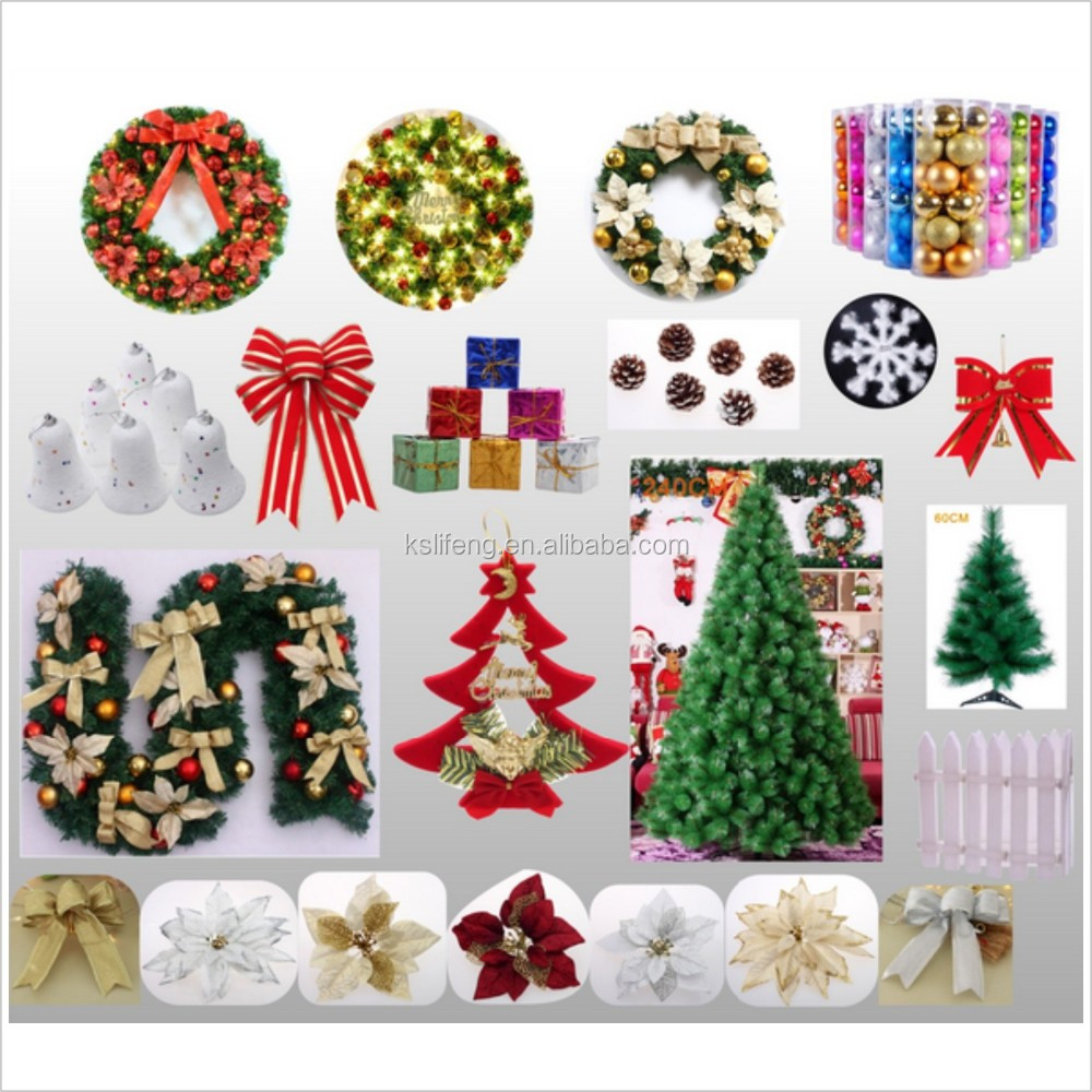 Bulk christmas items cheap christmas decoration buy for Cheap holiday decorations