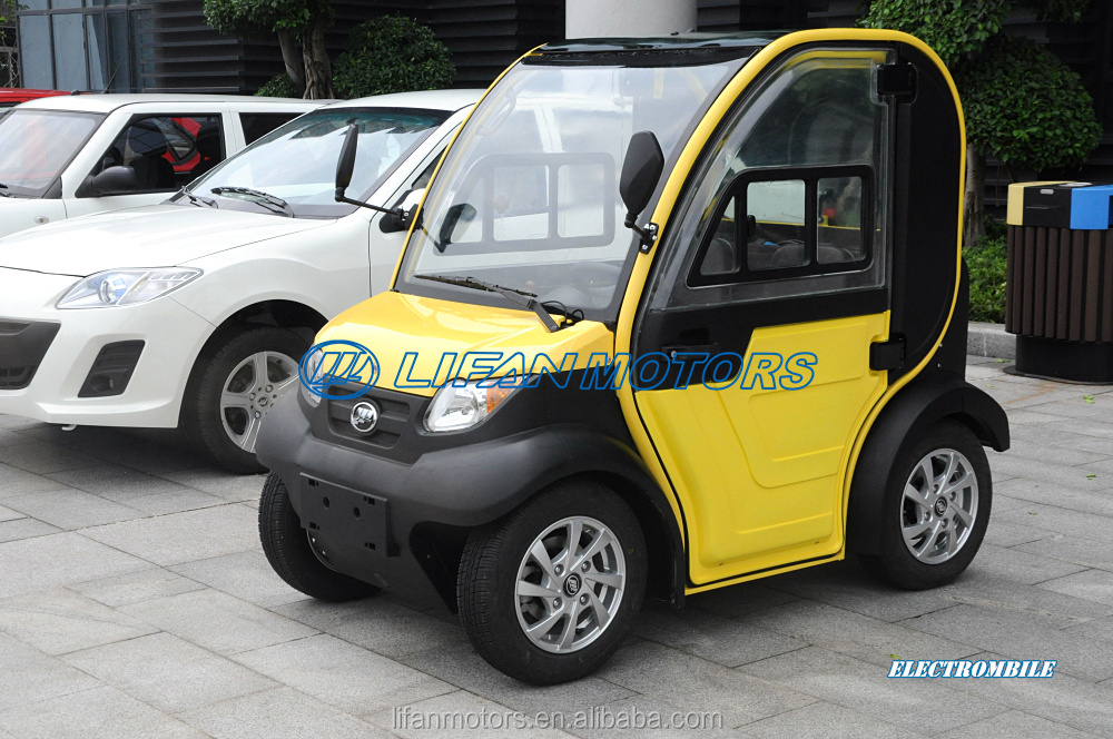 Right Hand Drive Lifan Electric Vehicle for Southeast Asia