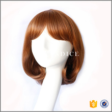 alibaba express wholesale new arrival cheap grey fluffy short hair wig