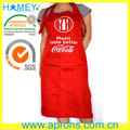 Quality customized brand promotional cooking apron with sedex