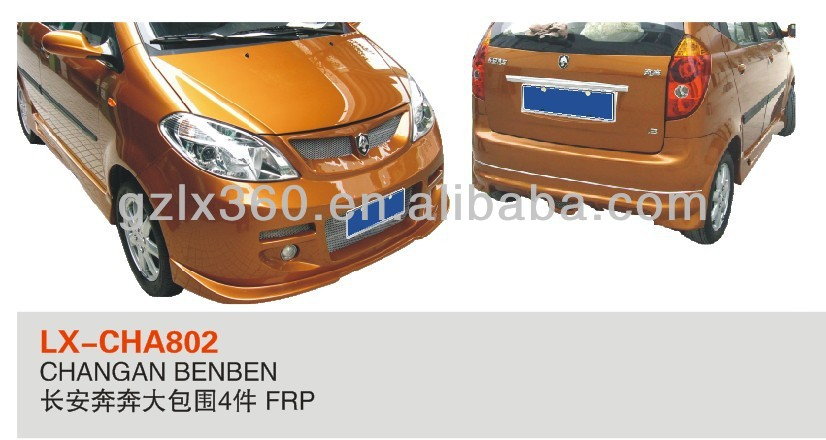 CHANGAN BENBEN auto car parts/Exterior body kits/CAR body bumpers(4 pieces)