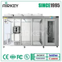 Customized mini cleanroom hardwall clean booth, stainless steel portable clean room