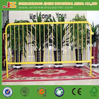 50x200mm pvc coated temporary fencing for highway road made in china