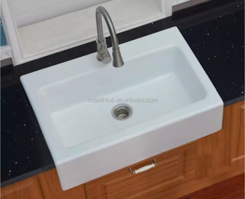 Cast Iron Kitchen Sink With One Bowl