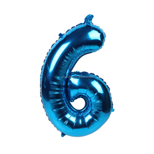 New product 2018 inflatable number foil balloon for party supplies and wedding decoration