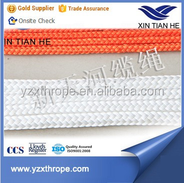 Double braided used mooring rope heaving line