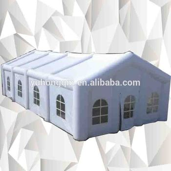 Extremely giant wedding waterproof inflatable camping sealed dome party tent container house