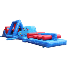 Customize water obstacle course floating island inflatable