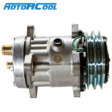 Motorcool Auto Ac 12V Compressor 7H15 Air Conditioner For Universal Car