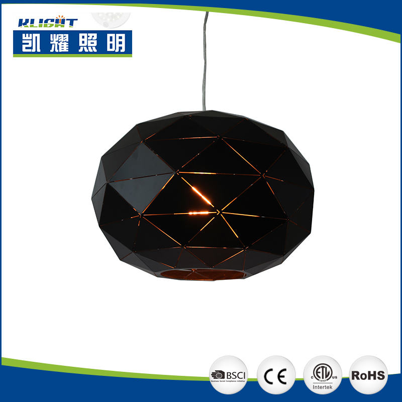 Modern Industrial Black Metal lamp Cage Vintage Pendant Light Shade pendant lighting