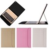 Briefcase style Slim Ultra Thin Leather Case for ipad pro12.9, for iPad Pro case keyboard Aluminum Bluetooth