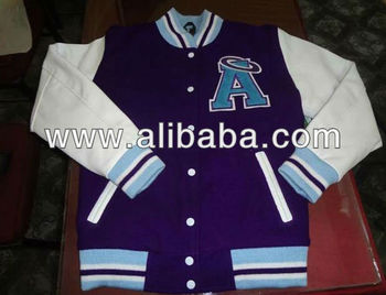 Varsity jackets with patches