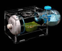 New Luxury Acrylic Transparent Hamster House