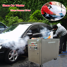 CE no boiler 20 bar 2 guns gas portable steam car washing equipment/steam steamer
