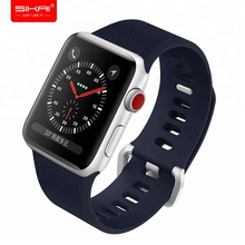 Amazon hot !! Promotion Watch strap 42mm 38mm sport silicone watch strap wrist rubber watch band for apple