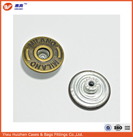Wholesale Gold Brass Round Metal buttons for jacket coats