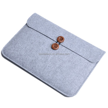 Wholesale Promotional Flet Laptop Sleeve Laptop Cover Bag Wool Felt Laptop Sleeve Bag