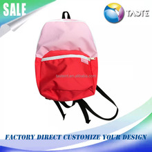 2017 Fashion pink outdoor travelling waterproof custom hiking backpack