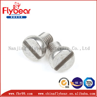 German DIN84 stainless steel slotted cheese head screws china wholesale