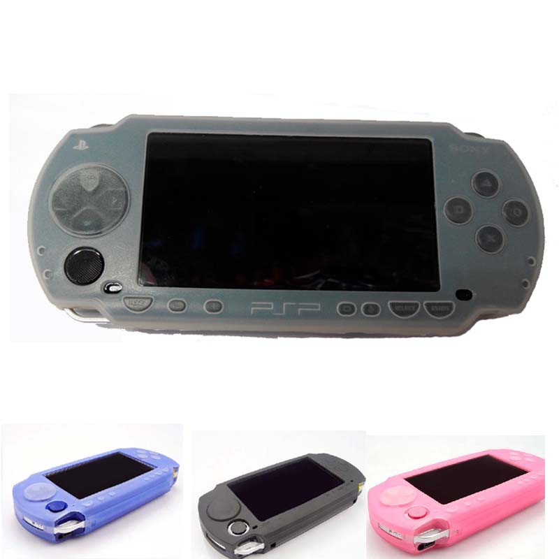 Silicone Soft Cover Case For Sony PSP 1000 Console Gel Rubber Protective Shell Case Cover Skin For PSP 1000