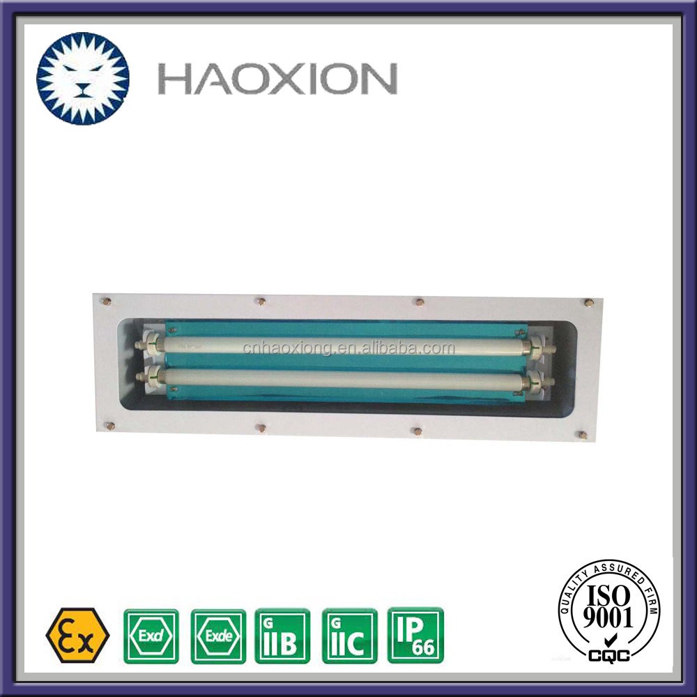 T8 tube fixture IP65 2x18w explosion proof led light