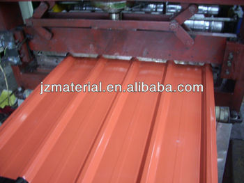 POPULAR ENDURING COLORED CORRUGATED STEEL SHEET