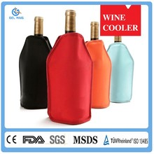 Unique Products Made In China Customized Durable Wine Bottle Gel Cooler Bags