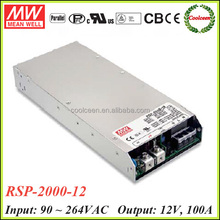 Meanwell RSP-2000-12 1200w switching power supply 12v 100a