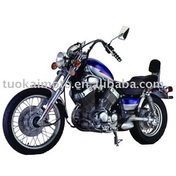 400cc V-double-cylinder EEC Shaft drive motorcycle (TKM400E-K)