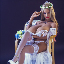 165cm Natural Color Silicone breast sex toy with Skeleton Lifelike Adult Naked Girl Sex Real Love doll for Men