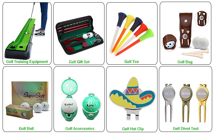 Alibaba melhores vendedores Logotipo personalizado liga de titânio clubes de golfe cabeça covers
