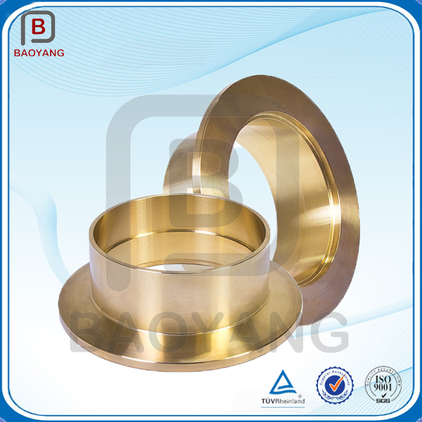 ISO 9001-2008 oil groove brass bushing, brass sleeve bushing