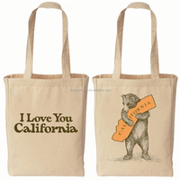 Printed cotton folding shopping bag,cotton tote bag