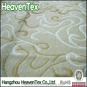 100% Polyester mattress ticking fabric for lining mattress