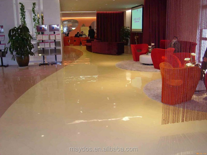 Self-leveling Concrete sealer epoxy floor paint coating