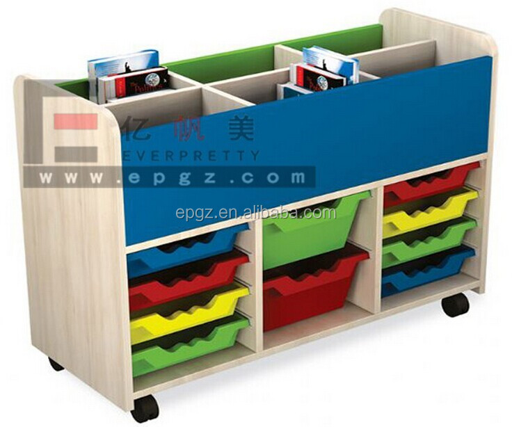 High Quality Kid Storage Wooden Furniture Designs Free Daycare Furniture