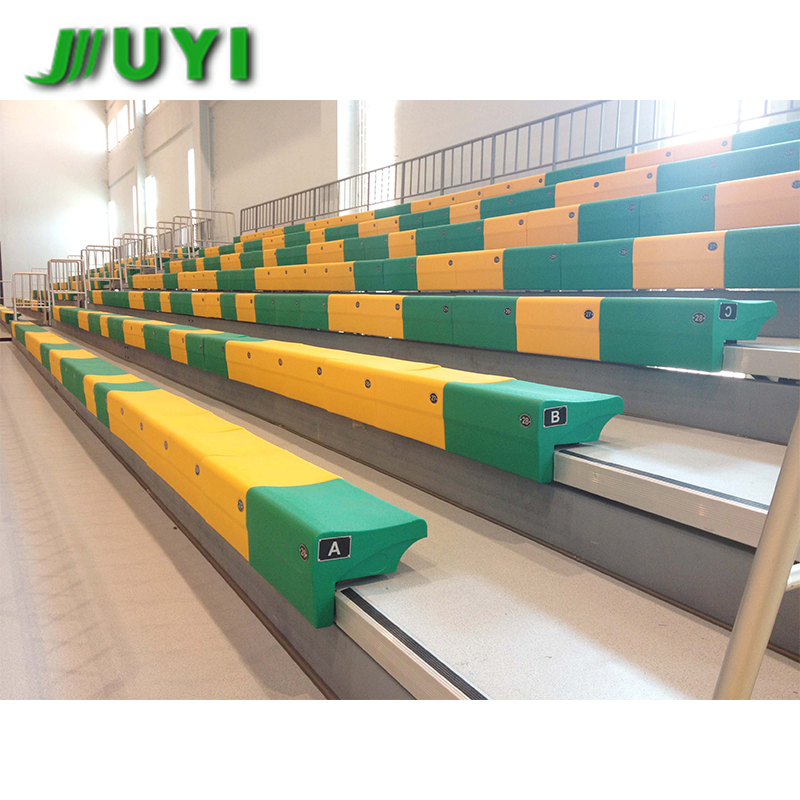 JY-750 Mobile Tribune/telescopico gradinate/plastica stadio bleacher