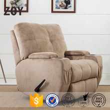 Modern home center recliner for one person Rocker recliner ZOY-99300-51