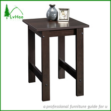 Living room decorative wooden end table