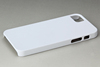 for iphone 5 plastic white case sublimation printing case