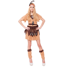 adult sexy indian women Costume for Halloween party Fancy Dress