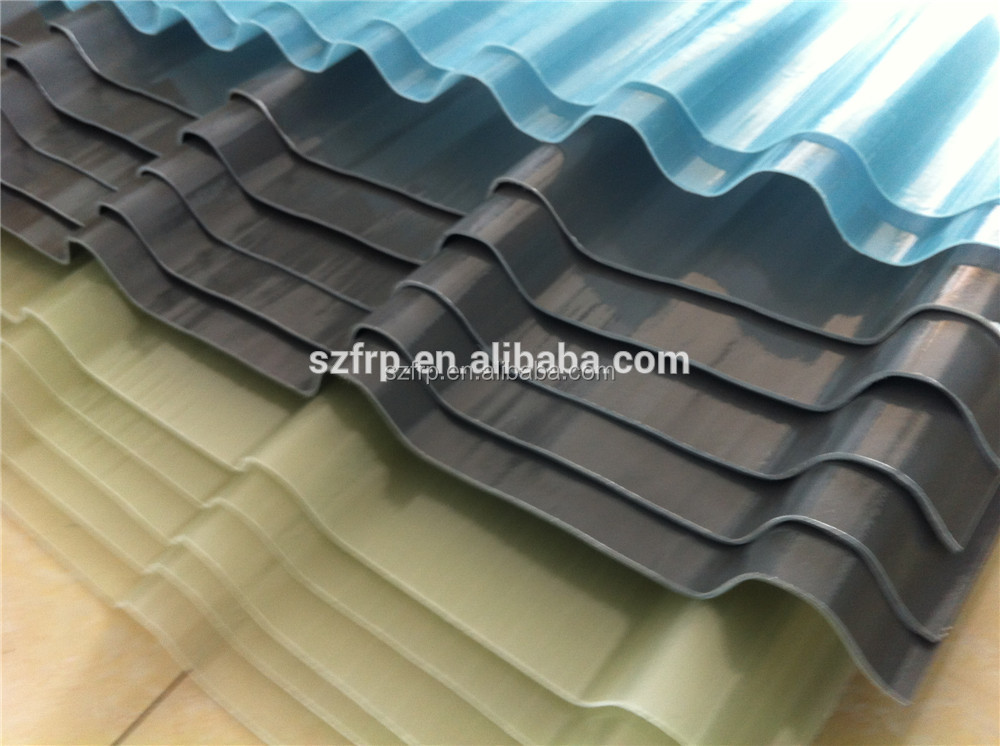 Frp/grp Roofing Sheet Product,Yellowish Resistant Frp Clear Fiberglass Flat Roof Panel